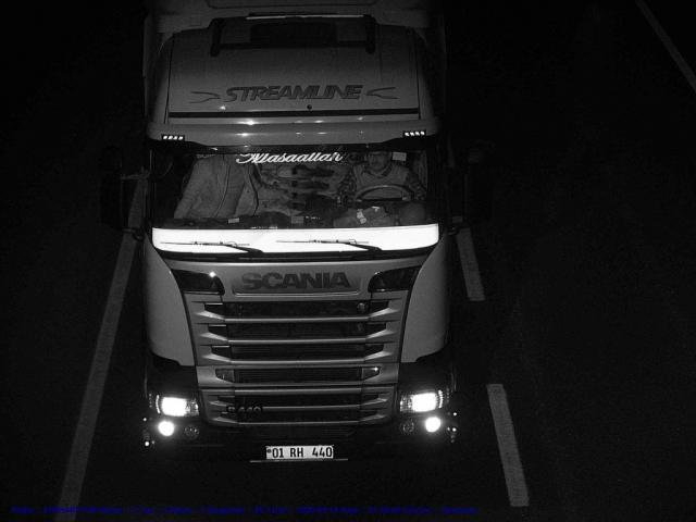 Sürücü Teşhisi İçin Infrared Projektör