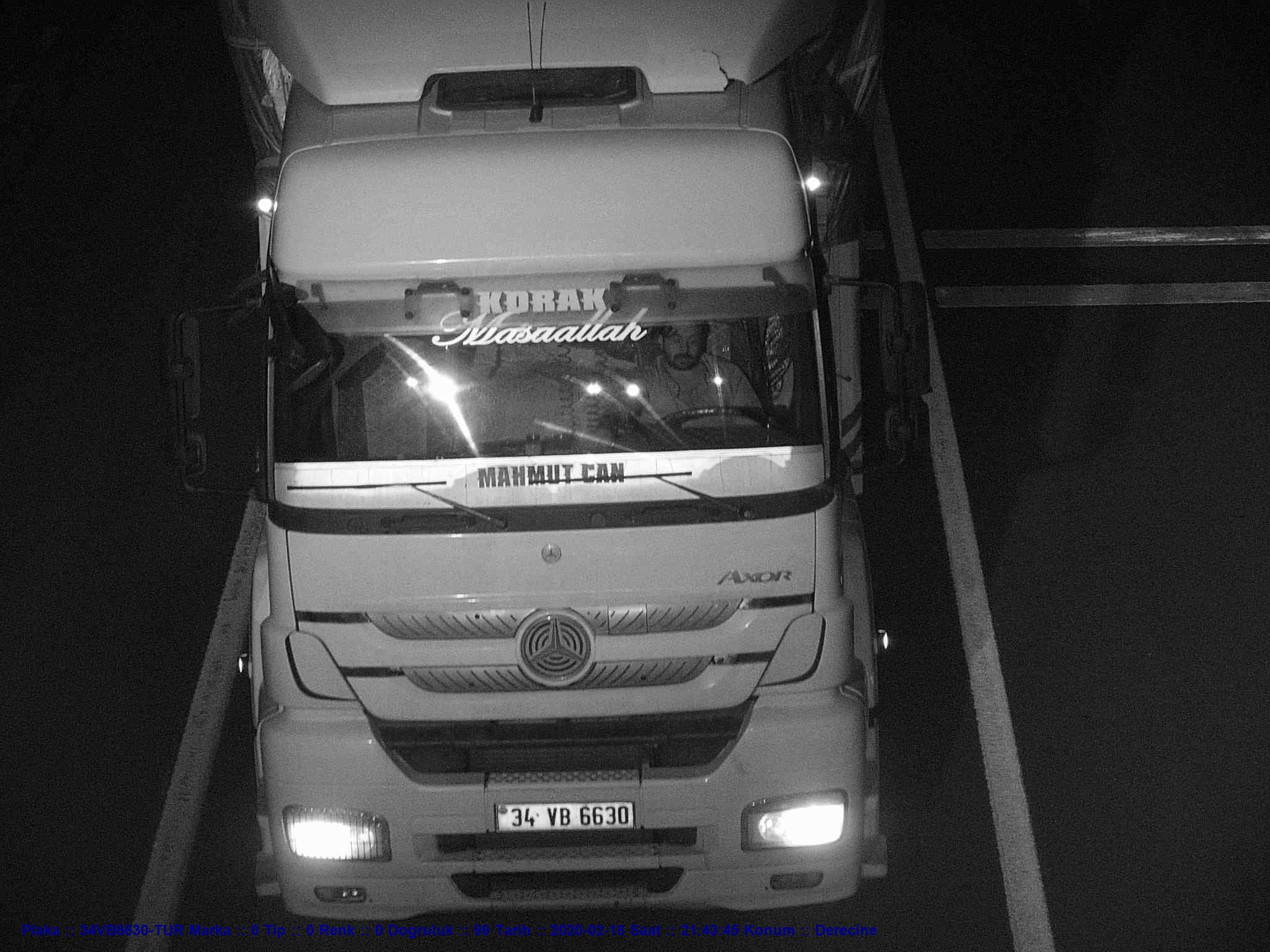 Sürücü Teşhisi İçin Infrared Projektör 6